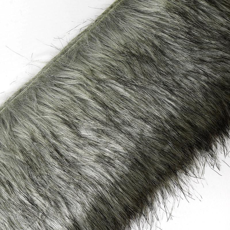 Мех искусственный Волк 80%акрил, 20%п/э 12х160см 7741413 №3