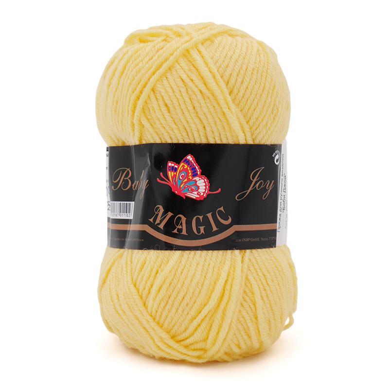 Пряжа Baby Joy 5722 - светло-желтый