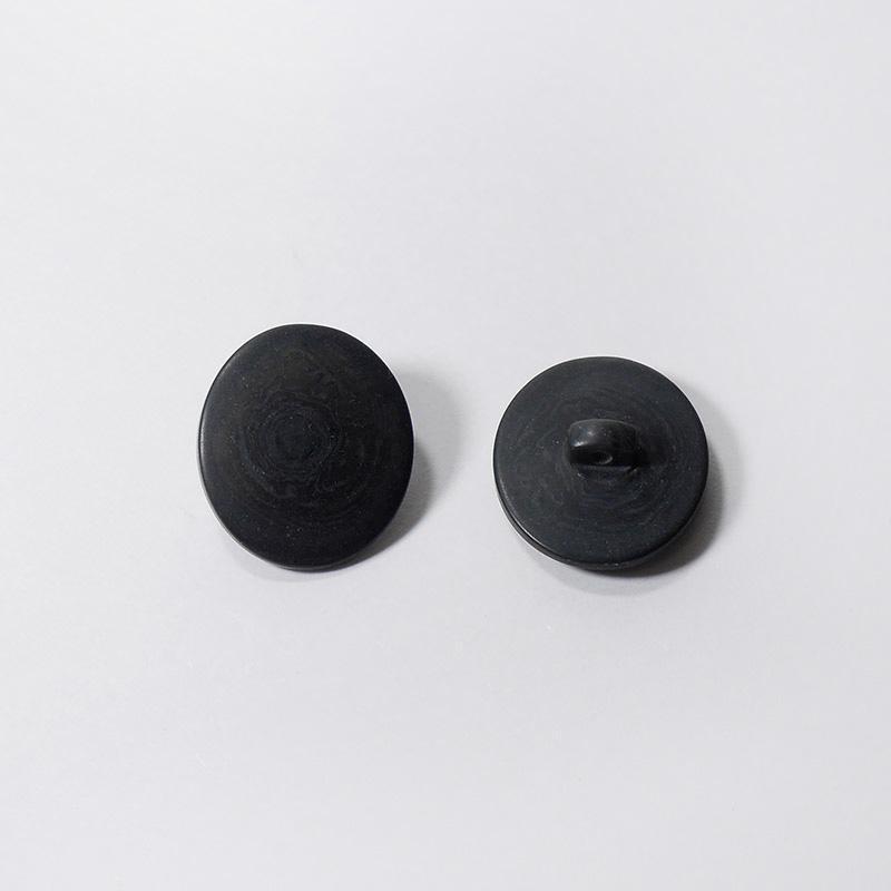 Пуговицы костюмные на ножке 86-К-Н-ОВ/РЗ-23 овал 20х23мм черный