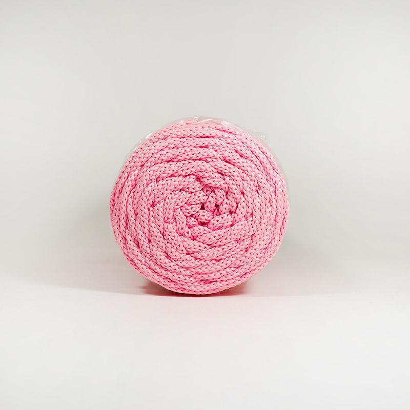 Шнур без сердечн 4мм 90 100м полиэфир  розов