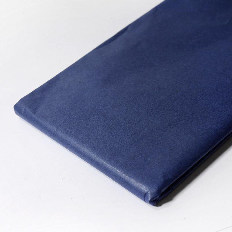 Бумага тишью 50х65см 10шт т.синий №275 67-87