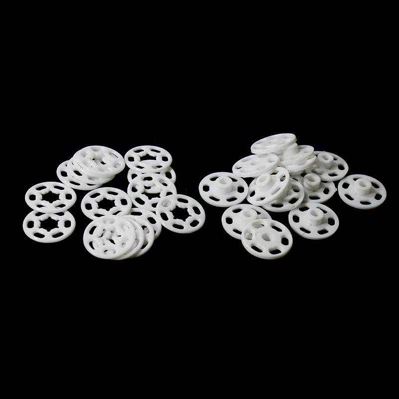 Кнопки пришивные пластик. 18мм 200шт белый