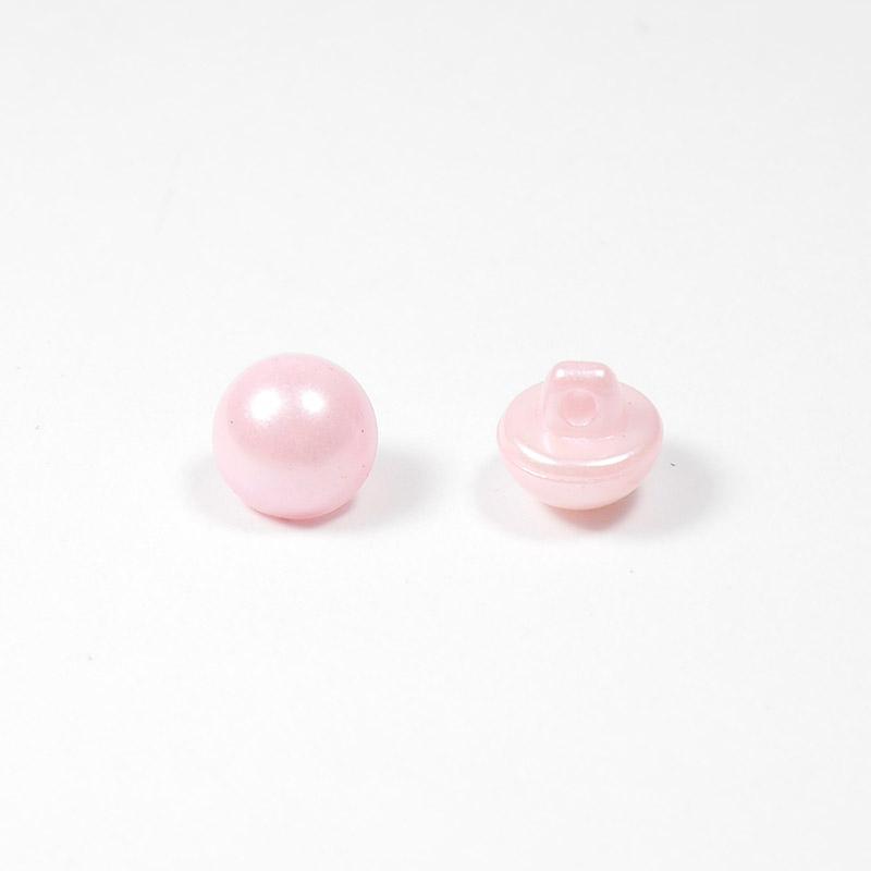 Пуговицы жемчуг 9мм розовый
