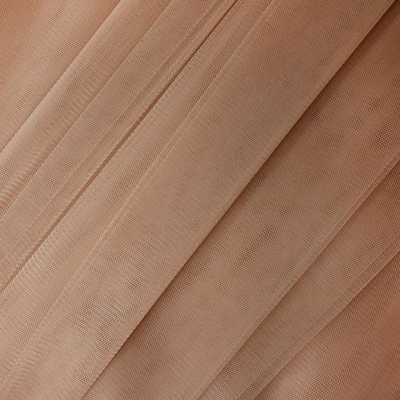 Еврофатин мягкий матовый HT.S 100%полиэстер 3х5м 62 нежно коричневый