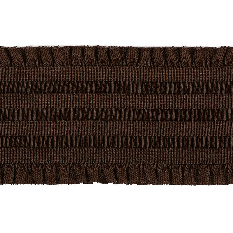 Резинка декоративная с рюшами ЕТ08304 70мм 30м 304