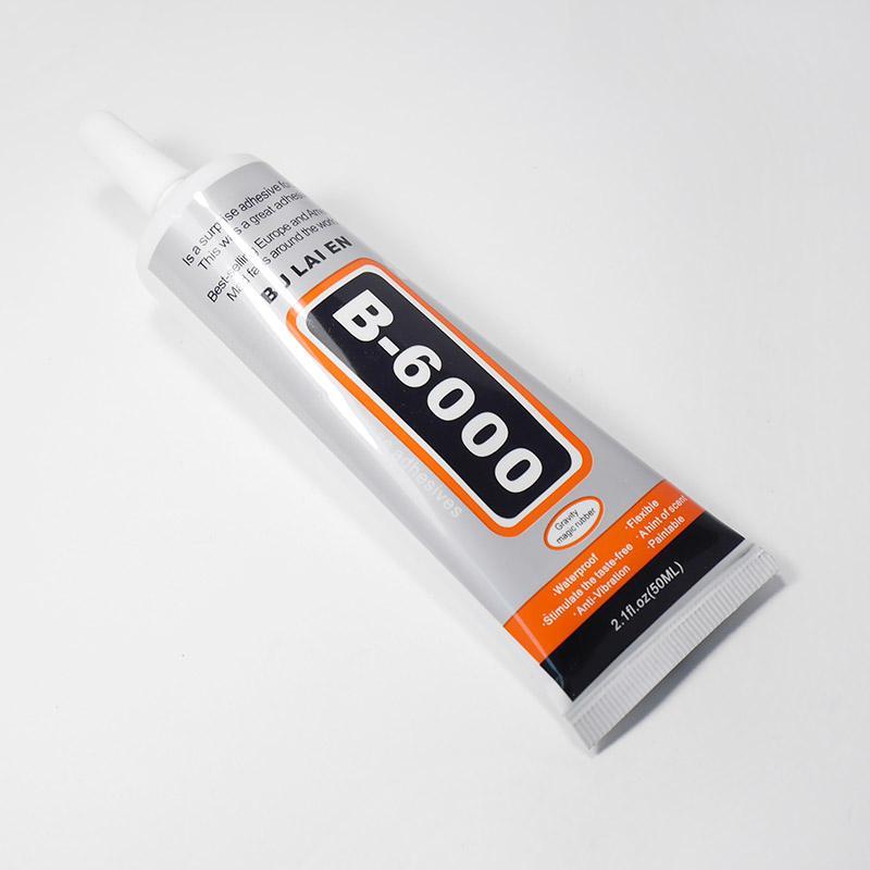 Клей для страз и полубусин 50мл В-6000