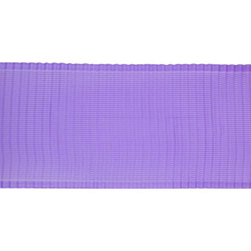 Лента гофре 80мм 1м 418025 фиолетовый