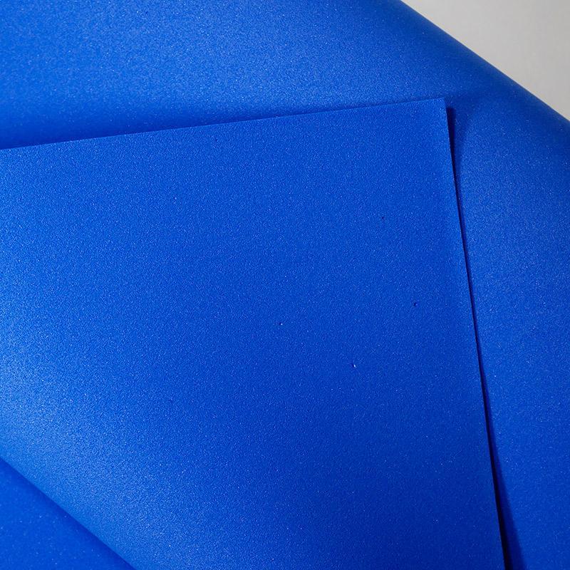 Фоамиран  50х50см 1лист т.голубой