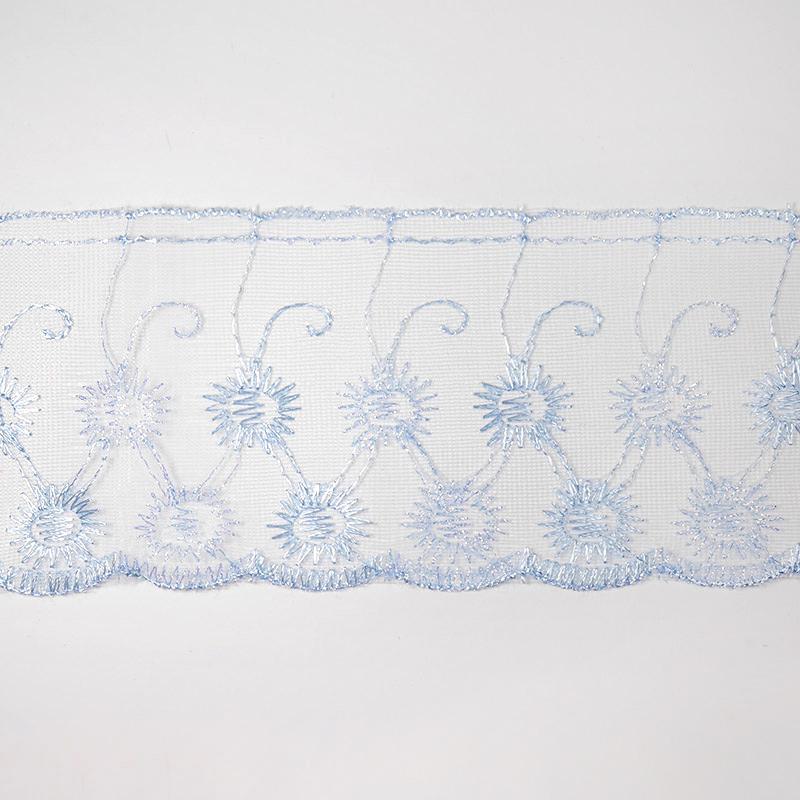 Шитье капрон 80мм 14м 780 голубой