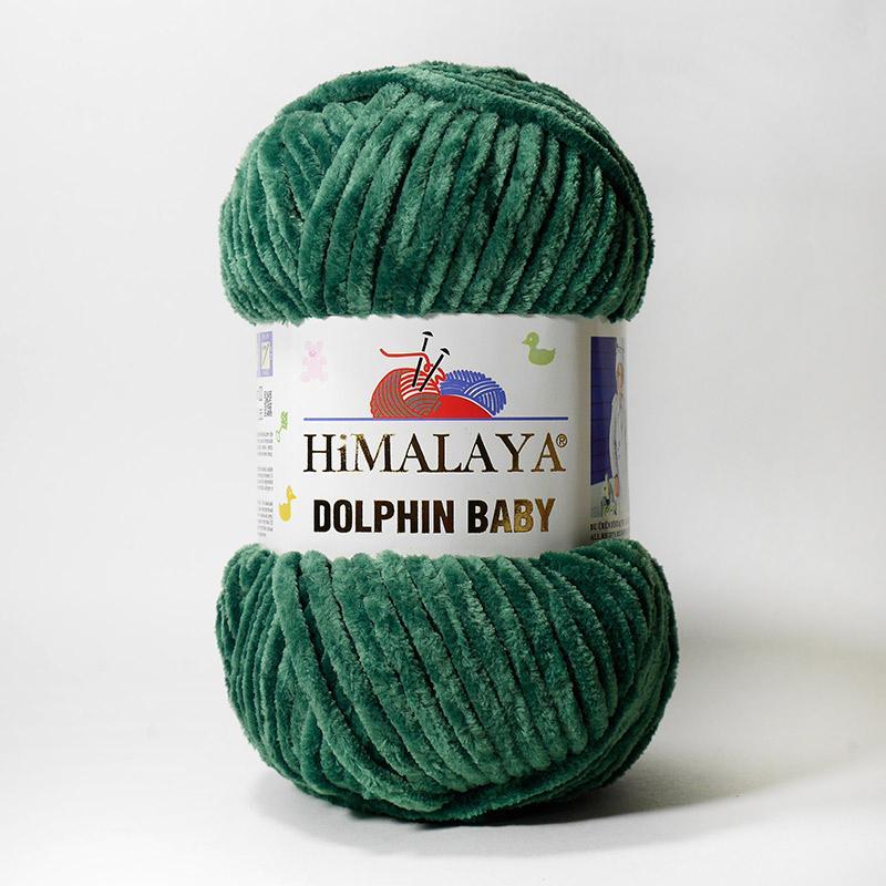Пряжа Долфин Беби 80360 - зеленый