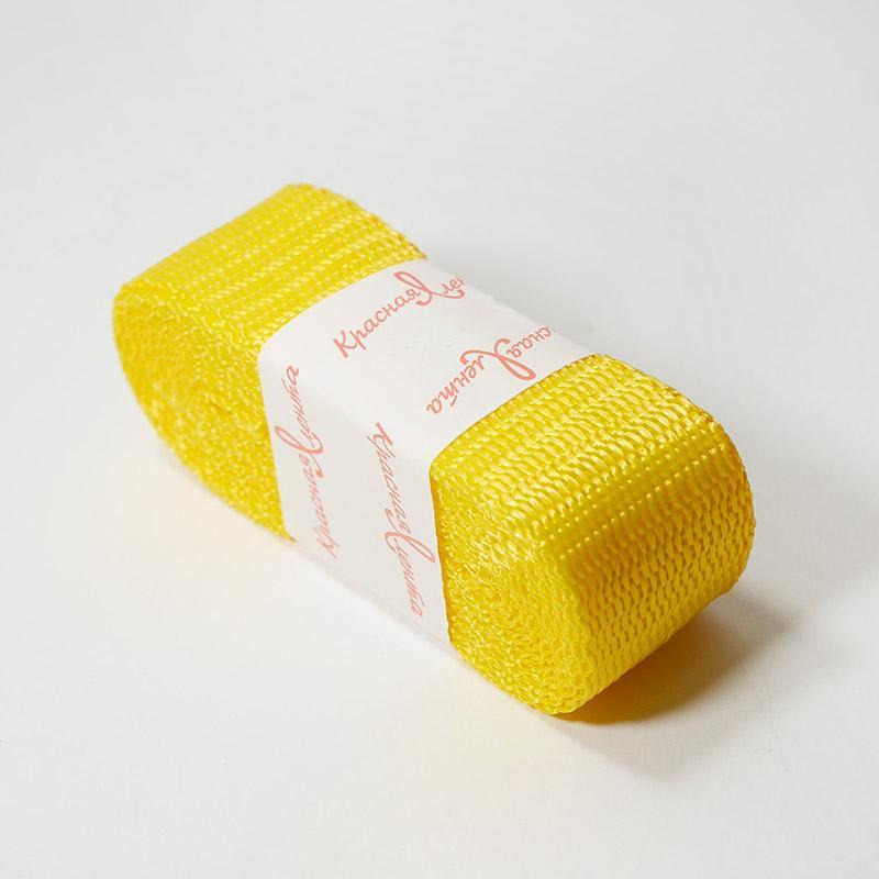 Стропа фасовка 30мм 2.5м 3713 желтый
