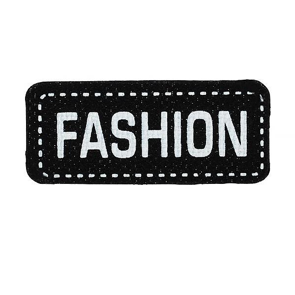 Аппликации пришив.Fashion TBY.SHEV.22  4х1,8см мульти