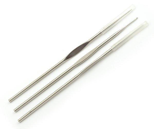 Крючки для вязания ТВ-СН03 0,6мм-1,6мм ассорти никель 12шт MAXWELL