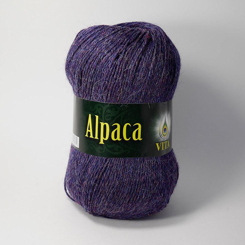 Alpaca Wool 2990 - брусничный меланж