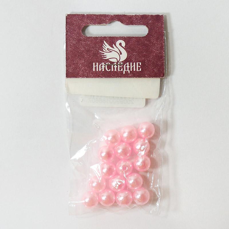 Бусины 8мм АМ8-138 5гр св.розовый
