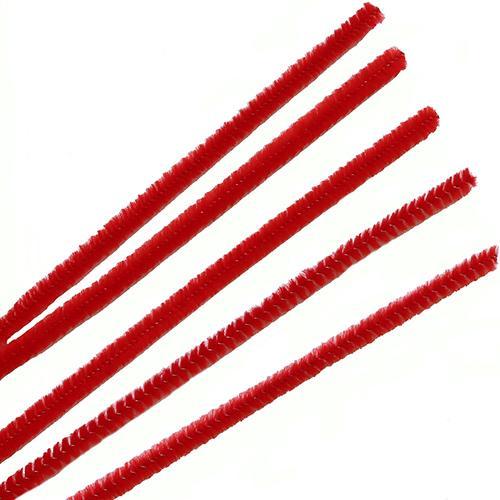 Синель-проволока 6ммх30см 30шт А-028 красный 7719569