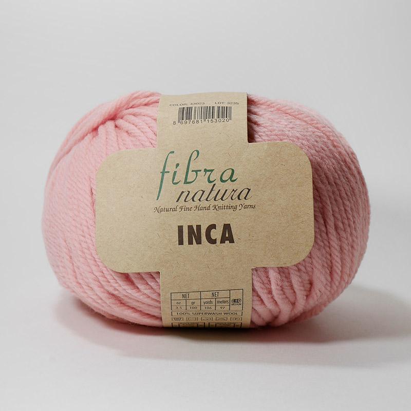 Пряжа Инка 43023 - св.розовый