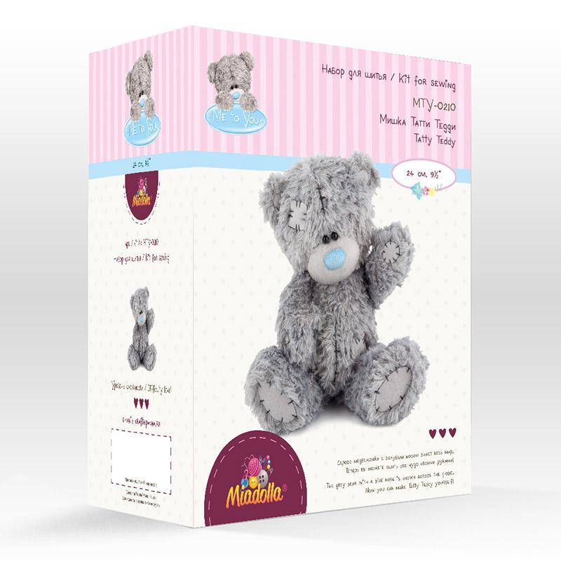 Набор для изготовления игрушки MTY-0210 Мишка Татти Тедди