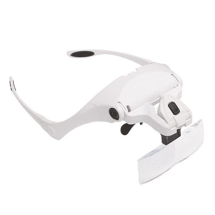 Лупа с креплением на голову и подсветкой LPG-01
