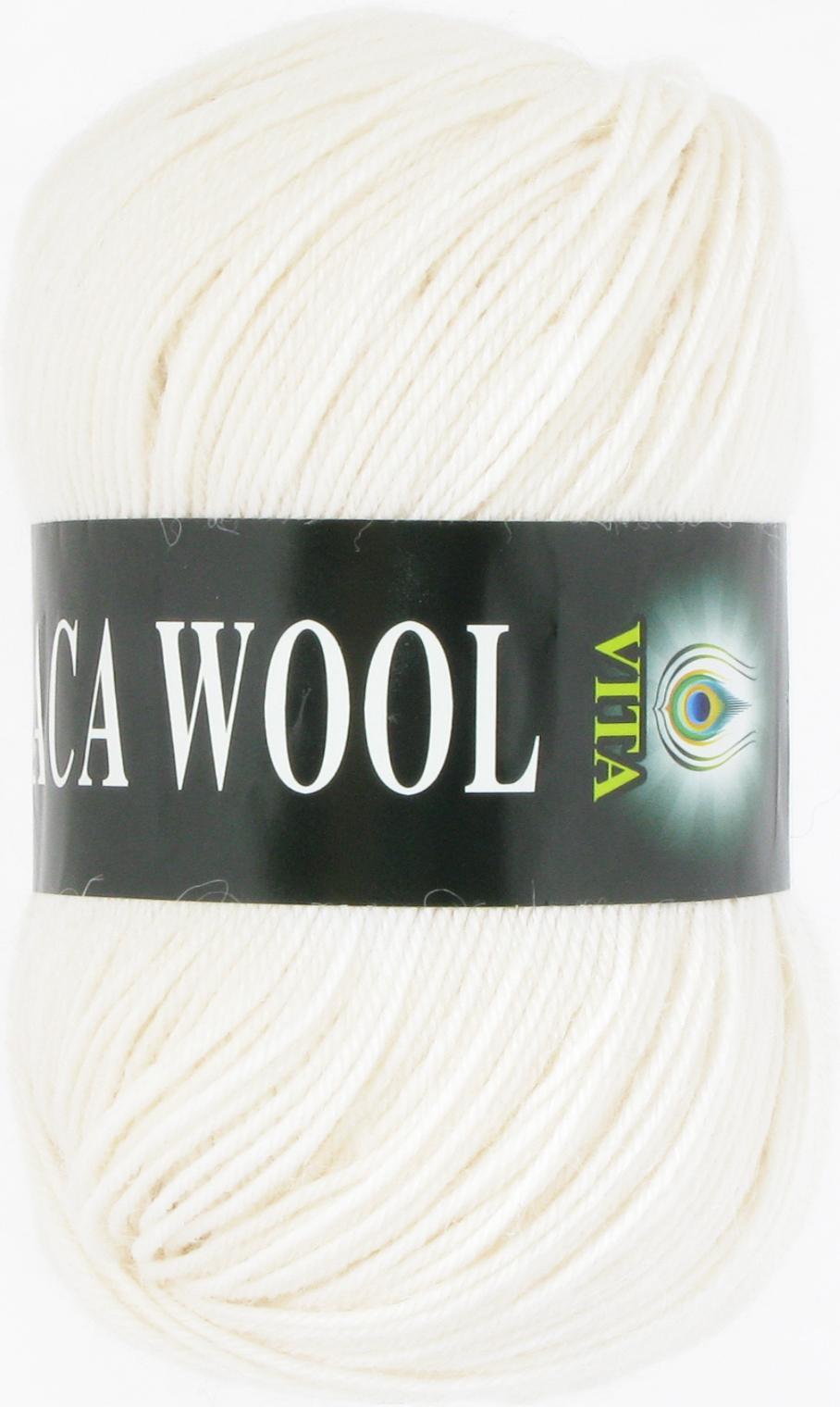 Alpaca Wool 2951 - белый