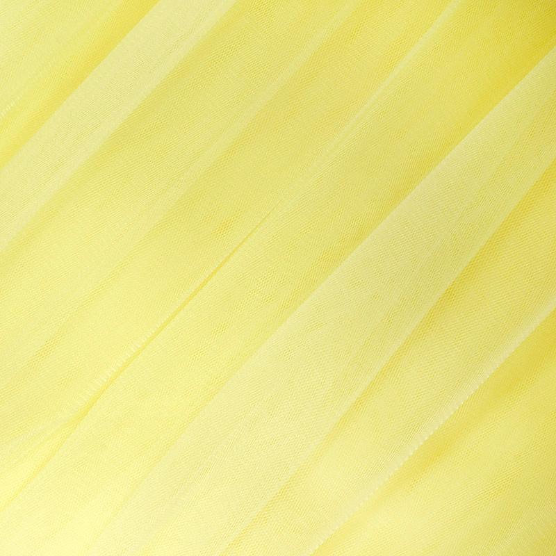 Еврофатин мягкий матовый HT.S 100%полиэстер 3х5м 80 пудровый желтый