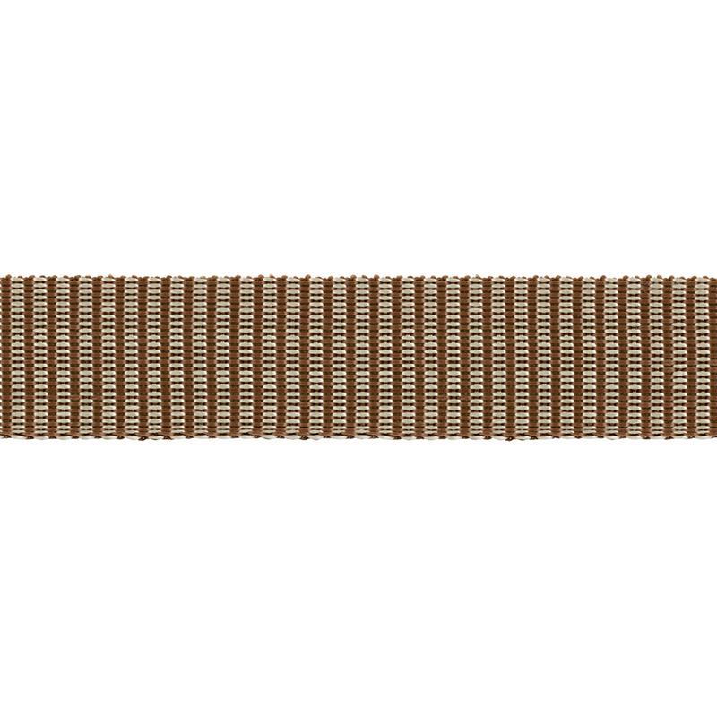 Стропа фасовка 30мм 2.5м С3846 коричнево-кремовый