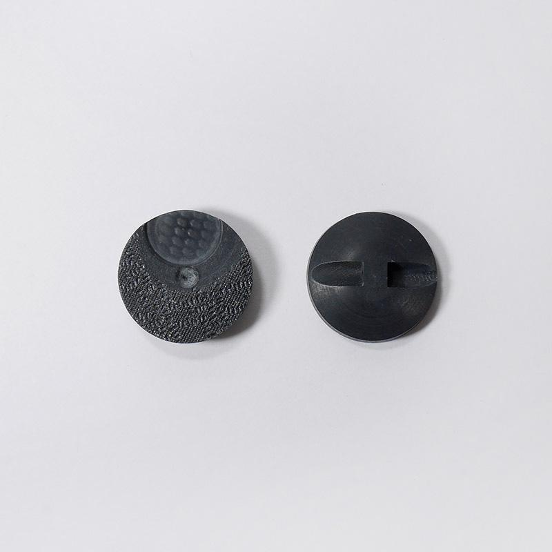 Пуговицы костюмные на ножке 86-К-НП-КР/ПМ 22мм т.серый
