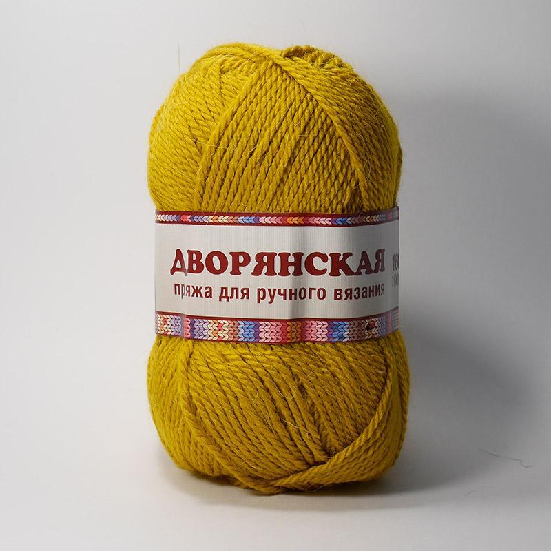 Пряжа Дворянская 033 - горчица