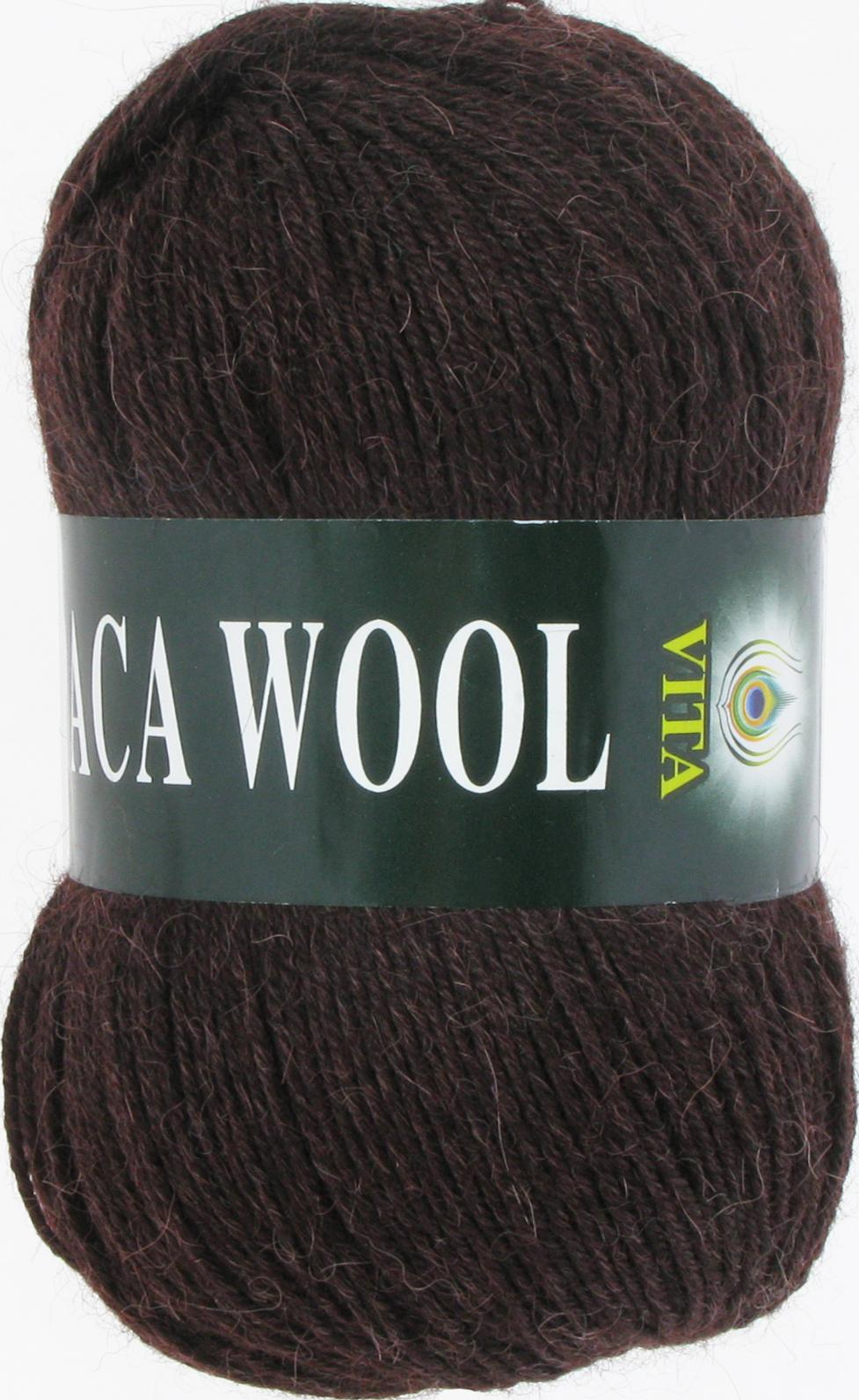 Alpaca Wool 2955 - коричневый