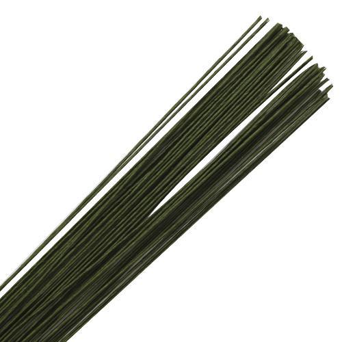 Проволока для стеблей 0,8мм 60см 50шт 7716175 зеленый