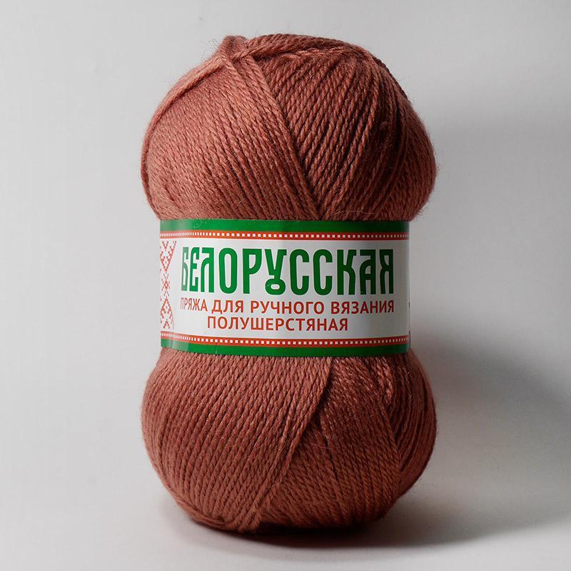 Пряжа Белорусская  088 - брусника