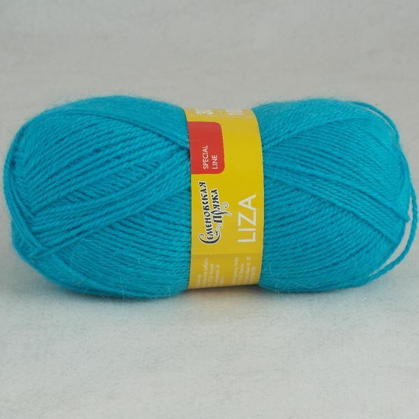 Пряжа Лиза 290 - бирюз.голубой