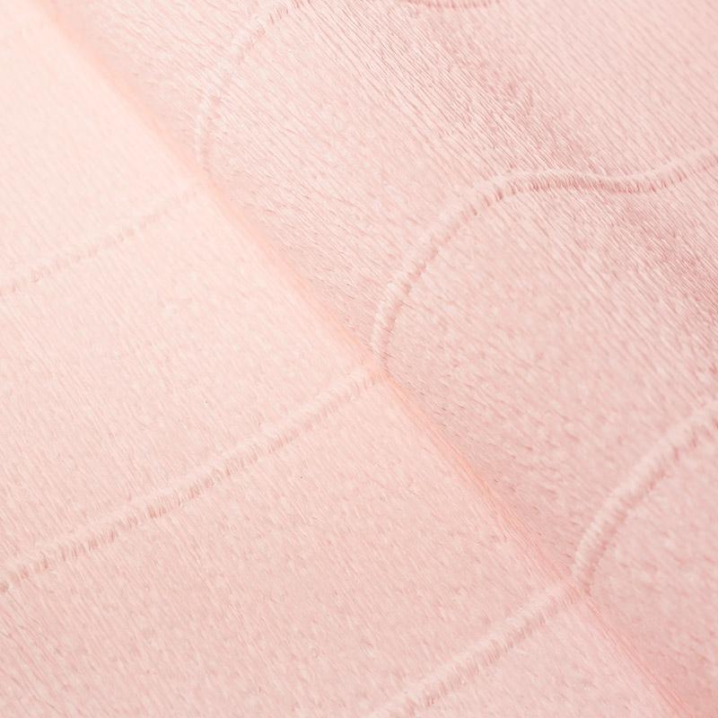 Бумага гофрированная 50см 2,5м 140г/м2 Италия 969 розово-бежевый
