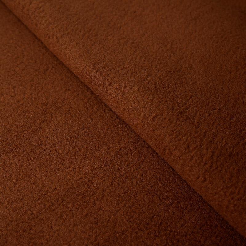 Трикотаж Флис 180 50х50см коричневый 21817