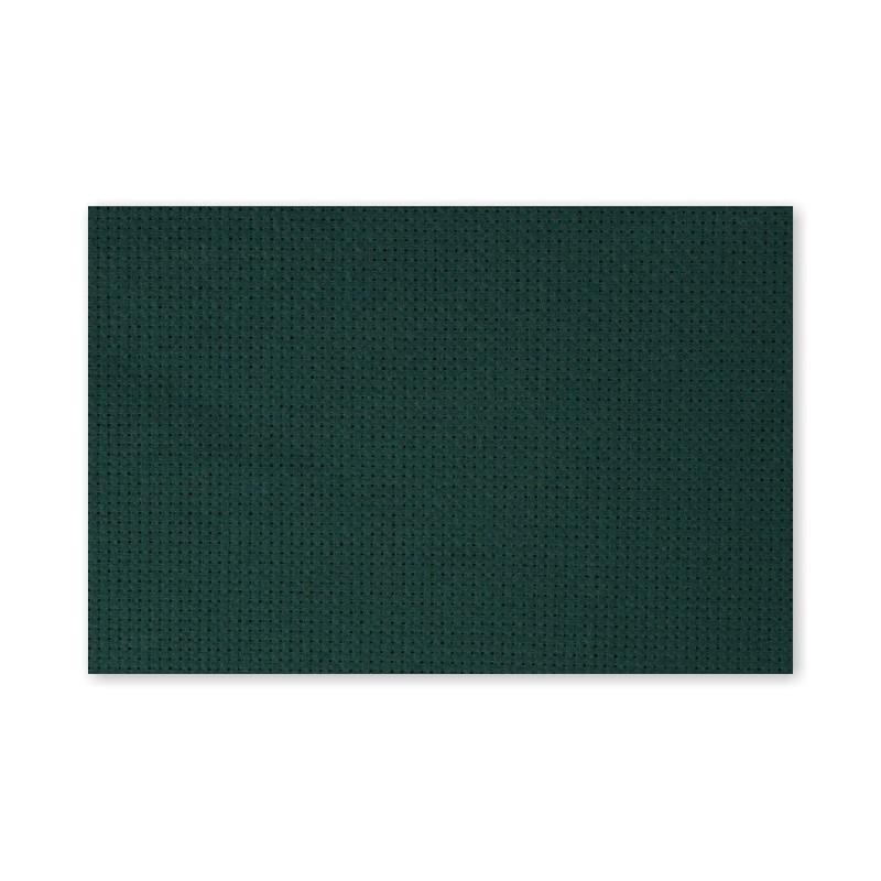 Канва в упаковке Г 30х40см 14кл т.зеленый