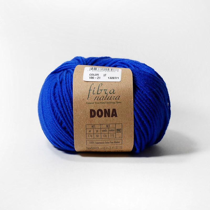 Пряжа Дона 106-21 - синий