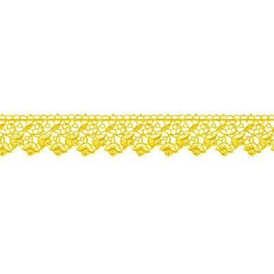 Гипюр 3157 40мм 8.8м желтый