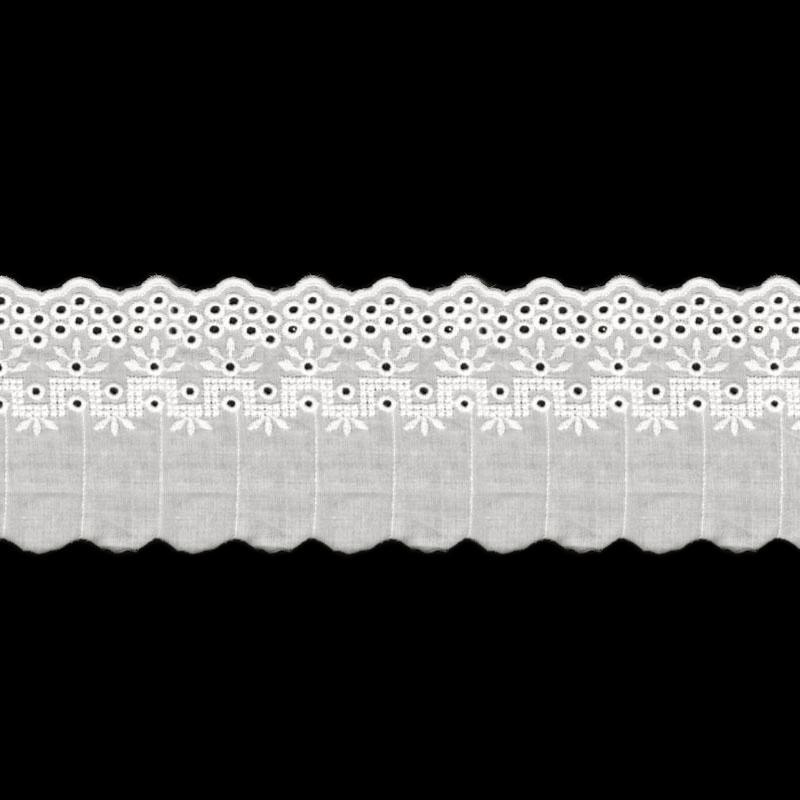 Шитье 15071 95мм 8,8м белый
