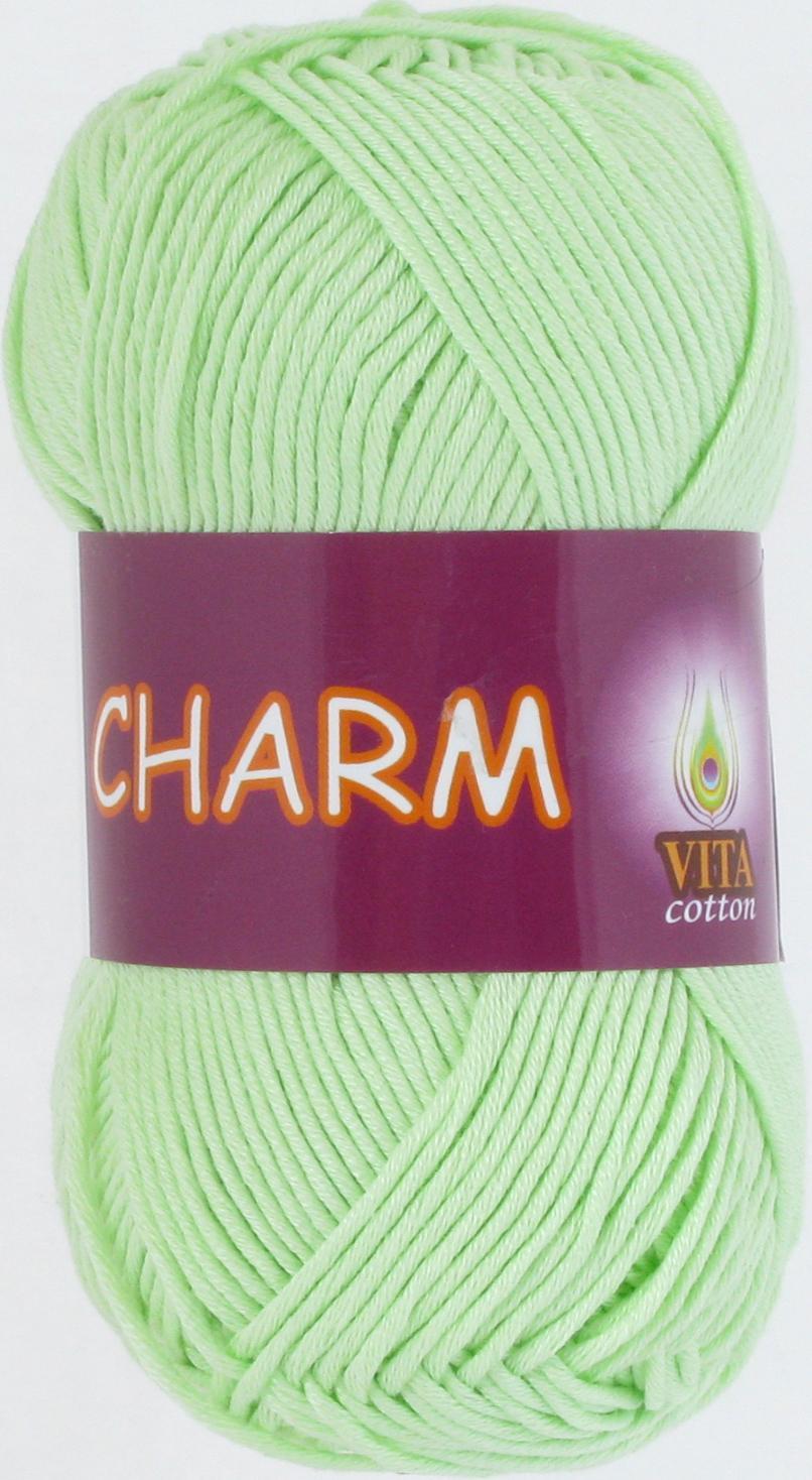 Пряжа Charm 4161 - светло-салатовый