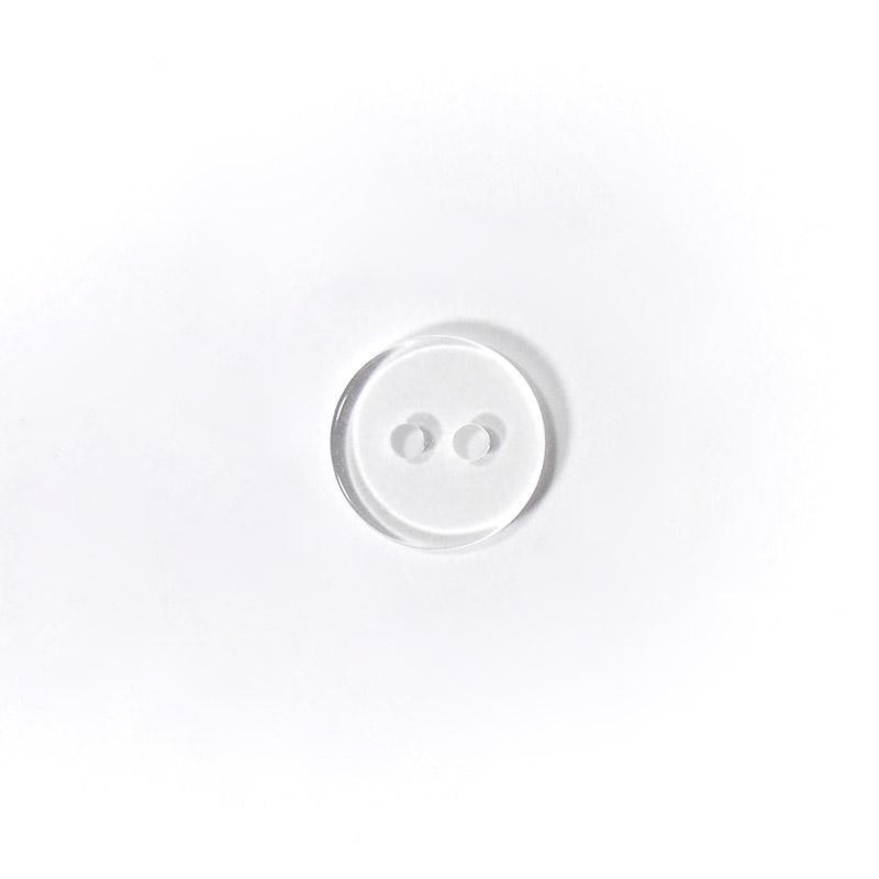 Пуговицы рубашечные 8193 11мм прозрачный