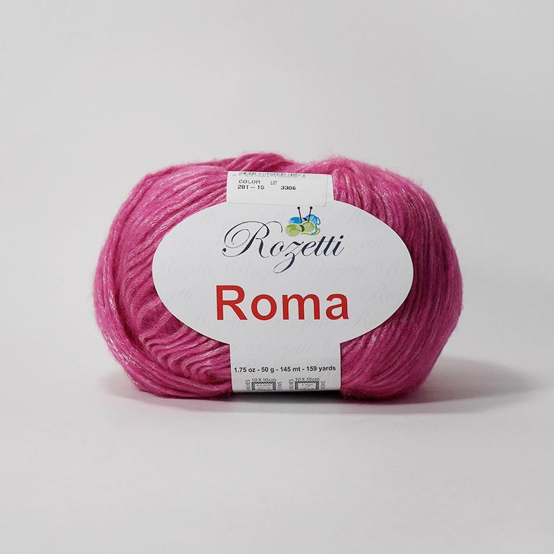 Рома 201-15 - ярко-розовый