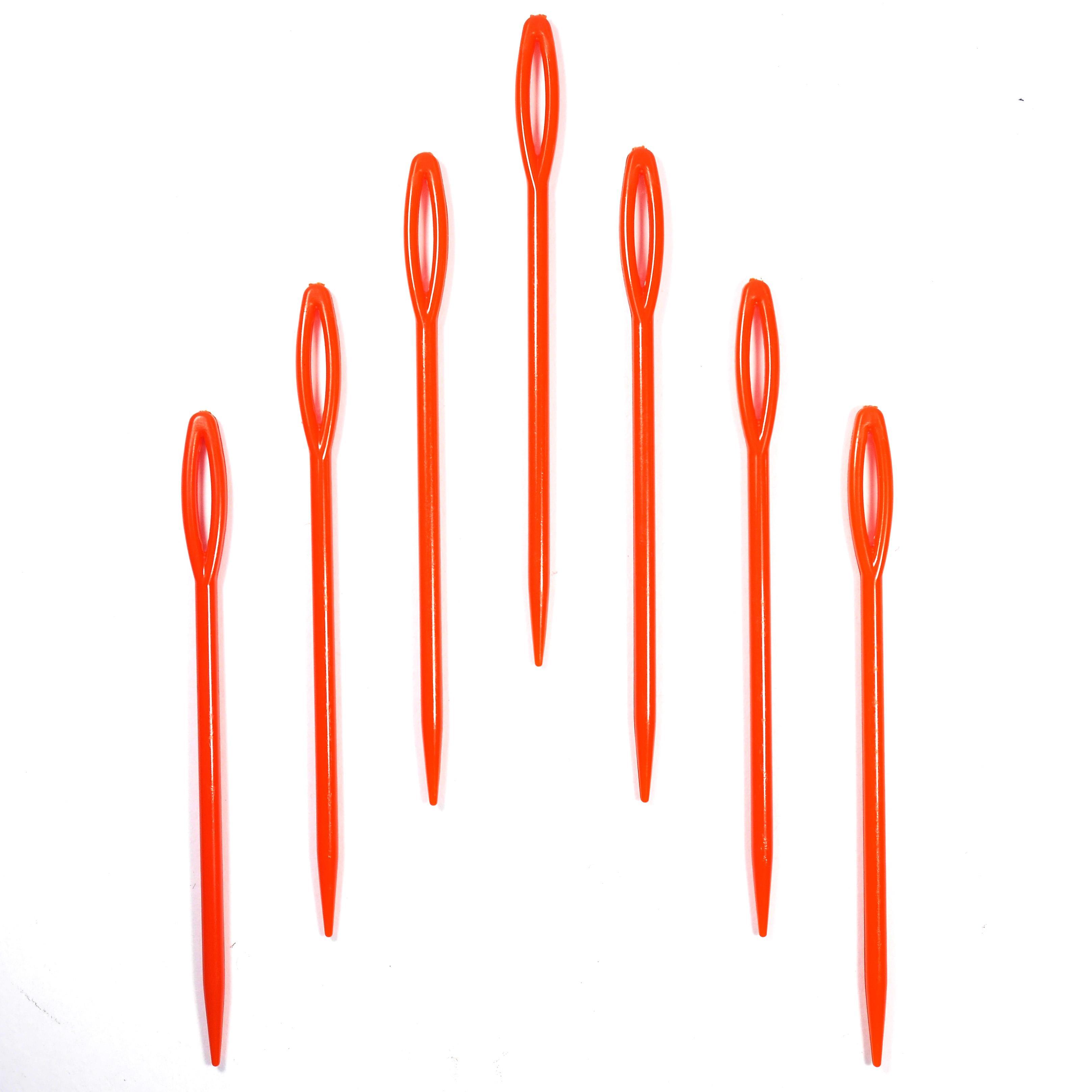 Игла для сшивания вяз. изделий 7,2мм (бол), пластик