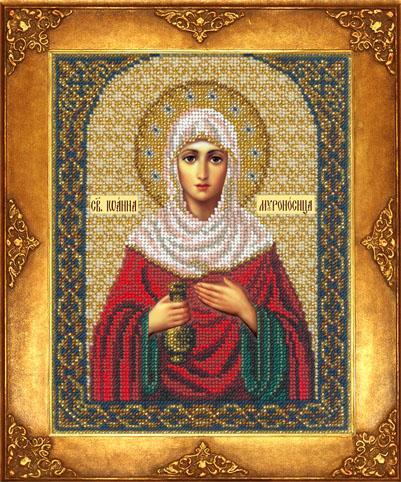 """Набор для вышивания 377 """"Святая Иоанна Мироносица (Жанна, Яна)"""""""