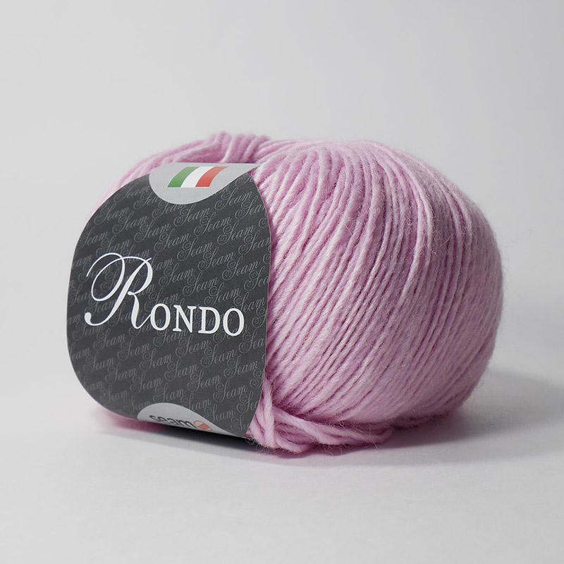 Пряжа Рондо 18 - розовый