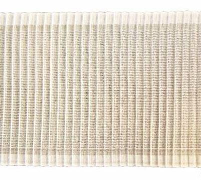 Лента гофре 80мм 1м 418025 белый