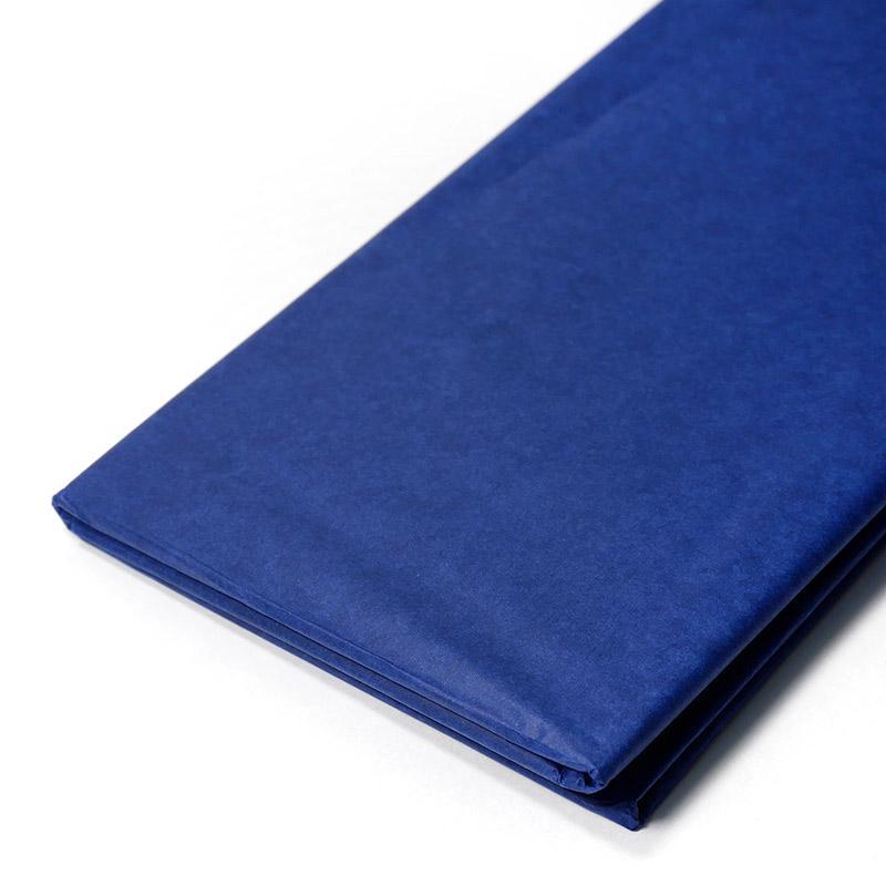 Бумага тишью 50х65см 10шт синий №2860 67-68