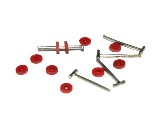 Набор креплений фанера №6 КЛ.23530 10 дисков 6мм,5 Т-шпл 1,6см