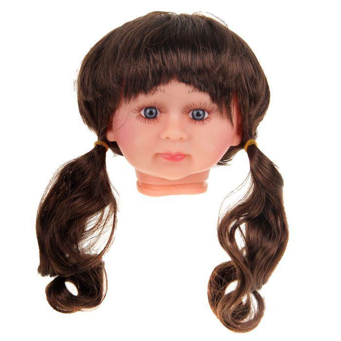 Волосы для кукол Кудряшки в хвостиках с челкой 2294839