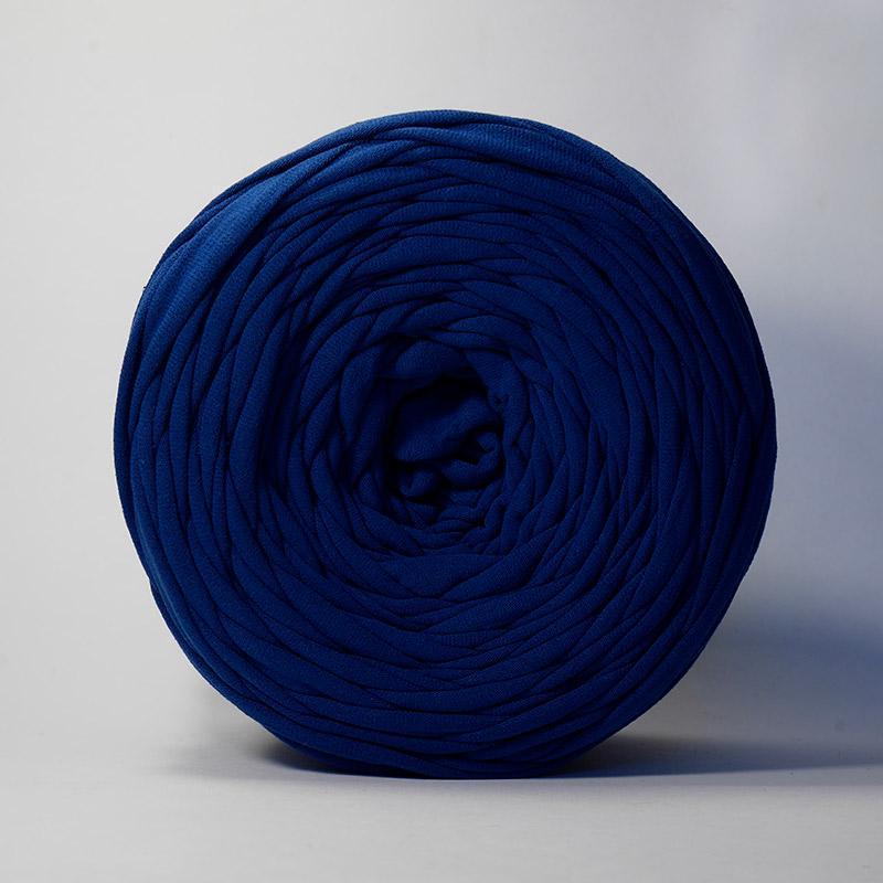 Пряжа Лента - темно-синий