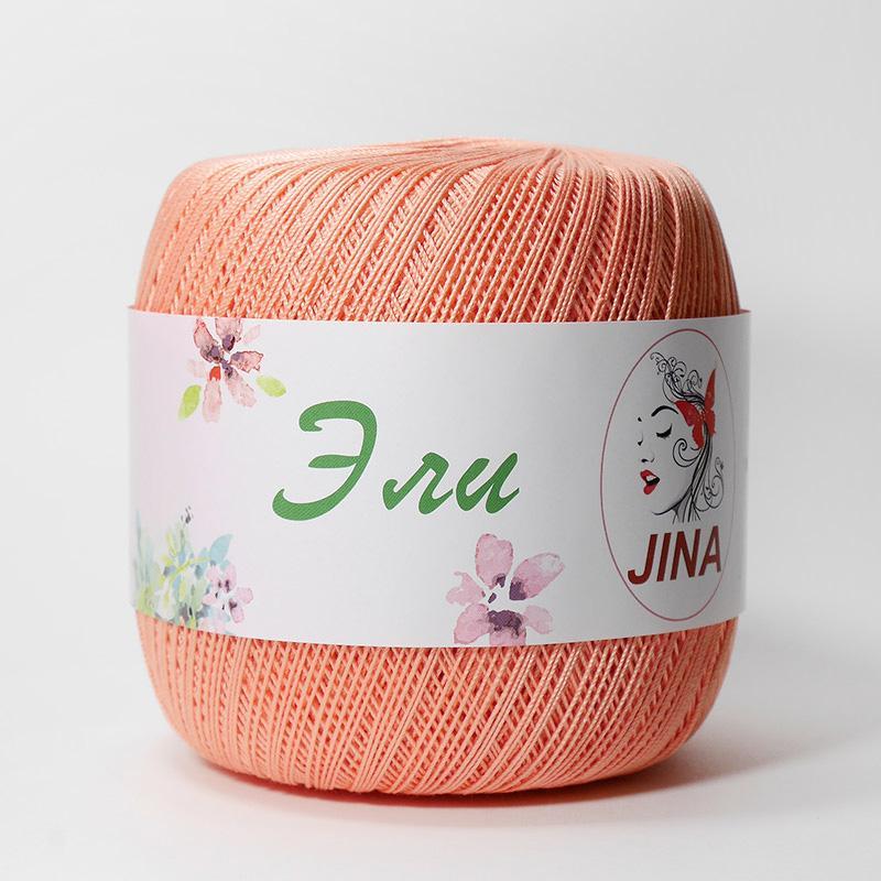 Пряжа Эли 4934 - персиковый